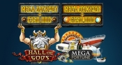 Hall of Gods en Mega Fortune prijzenactie